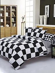 Manmer Duvet Cover Set Striped Ab Version Dear Skin Tencel Dye Full