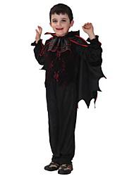 Halloween costume de vampire costume noir enfant