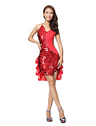 Dancewear Women's Milk Silk/Polyester Latin Dance Dress(More Colors)
