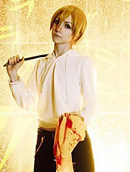 Durarara!! Masaomi Kida Yellow Short Cosplay Wig