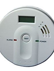 Carbon Monoxide Alarm with LCD Display