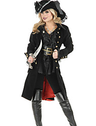 Punk Japanese Pirate Uniform PU & Terylene Halloween Costume