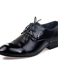 TPU Black Dress Shoes