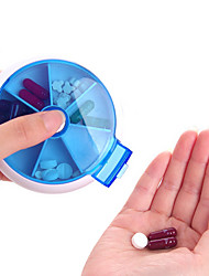 Mini Cute Plastic Pill Box(1 Pc)