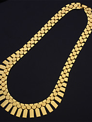 U7®New Women's Charm Choker Statement Necklace 18K Real Chunky Gold Platinum Plated Jewelry Gift for Women