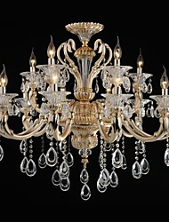 MAX 60W Modern/Contemporary Crystal Electroplated Metal ChandeliersLiving Room / Bedroom / Dining Room / Study Room/Office / Kids Room /