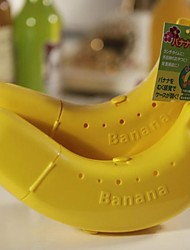 Hard Plastic Banana Guard Food Container Storage Box Case Lunch Protector