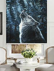 Silent Dark Wolf Roller Shade