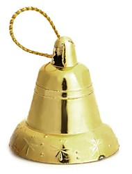 Christmas Tree Decorative Bells - Golden  18 PCS