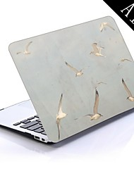 Birds On a Sunny Afternoon Wallpaper Design Full-Body Protective Plastic Case for 11-inch/13-inch New Mac Book Air