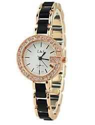 Reloj de Moda Aleación Banda Reloj de Pulsera