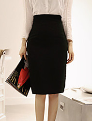 Feihong Women's Temperament Slim High Waist Bodycon Skirts