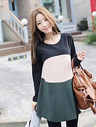 Maternity Round Collar Loose Dress (More Colors)