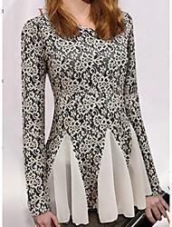 dameskleding dazhongjie lange mouw fashion shirts