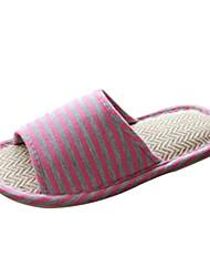 scarpe da donna slingback piatto pantofole in tessuto tacco scarpe più colori disponibili