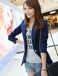 lã Hitz terno feminino pequeno outerwear