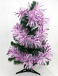 1.75m Weihnachtsgirlande mutige Farbbalkenfarbe zufällig (Satz von 4)