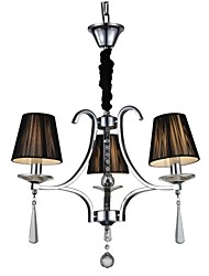 MAX 60W Chandelier ,  Modern/Contemporary Chrome Feature for Crystal MetalLiving Room / Bedroom / Dining Room / Study Room/Office / Kids