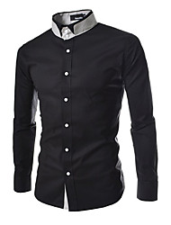 x-man Männer gemeinsame schlanke Langarm-Shirt