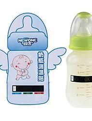 Digital Safe Infant Baby Milk Bottle Temperature Test Strip Thermometer Sticker