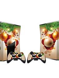 Xbox 360 Slim Console Protective Sticker Cover Skin Controller Skin Sticker