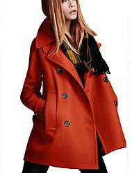 Jamie Women's Long Sleeve Fashion Bodycon Coat