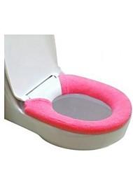 Bath Toilet Mat Super Soft Acrylic Buttons Solid Color  70X15.5