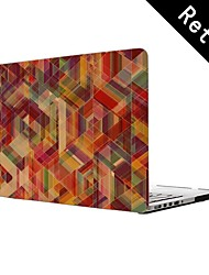 "Square Design Full-Body Protective Plastic Case for 13""/15"" MacBook-Pro with Retina Display"