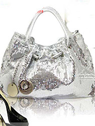 SMILE BUTTERFLY Women's Sequin Decorated Shoulder Bag