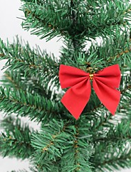 Christmas Tree Ornaments Small Bow  (Set of  12)