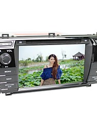 "7 ""capacitiva android4.2 2DIN carro dvd player para toyota corolla 2014, com GPS, Bluetooth, ATV, rds, ipod, swc, wifi, canbus, mp5"