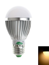 Zweihnde E26/E27 3W 6 SMD 5730 280-300 LM Warm White A50 Decorative LED Globe Bulbs AC 85-265 V