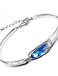 Bracelet - en Argent sterling - Vintage/Mignon/Soirée/Travail/Tous les jours - Lien/Chaîne