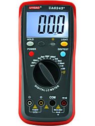 UA6243+ Digital Inductance Capacitance Meter Manual Range 2mH~20H 2nF~2mF ±1.0%