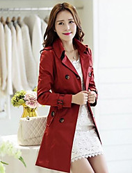 Qingyifang Women's Double Breast coat