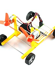 Electric Power Toy Car with Fans for Physics Study