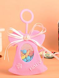 projeto sino-de-rosa com bowknot favor bag-conjunto de 12