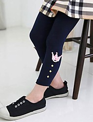 Girl's Leggings Cotton Winter