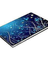 """luz azul q044 padrão laptop etiqueta protetora da pele para 14 """"laptop"""
