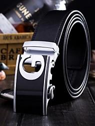 Men Waist Belt/Wide Belt , Vintage/Party/Work/Casual Alloy/Leather