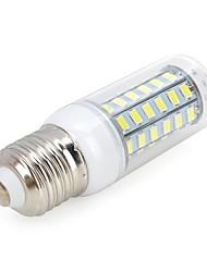 10W E26/E27 LED a pannocchia T 56 SMD 5730 800-900 lm Luce fredda AC 220-240 V