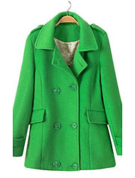 manteau de manteau occasionnel des femmes