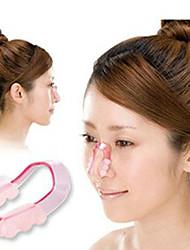 tx moda plástico ajustar tala nasal para o nariz hightening (1 jogo)