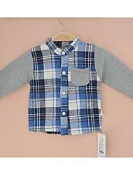 Boy's Cotton Shirt , Spring/Fall Long Sleeve
