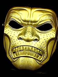 infierno feroz máscara de portero de oro&plata de halloween máscara