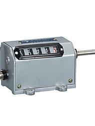 5 chiffres pointage mécanique contre 45 × 60 mm avec bouton de réinitialisation pendant usine z-73
