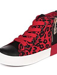 Sneakers de diseño ( Amarillo/Rojo ) - Comfort/Punta cerrada - Lienzo