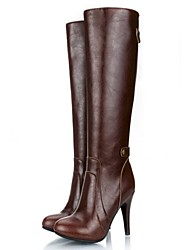 Women's Shoes Meiyilang Fashion Boots Stiletto Heel Knee High Boots More Colors available