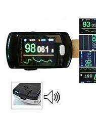 Contec® cms50e avanzada oximetría de pulso se refiere a la pinza de la oximetría con alarma