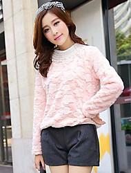 Frauen-Mode faux Rabbit Fur Coat (mehr Farben)